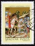 Sellos de Europa - Hungría -  COL-KÉPES KRÓNIKA 1370