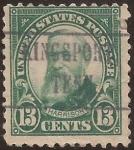 Sellos de America - Estados Unidos -  Benjamin Harrison  1926  13 centavos perf 11