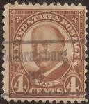 Sellos de America - Estados Unidos -  William Howard Taft  1930  4 centavos