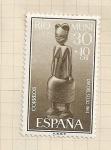 Sellos de Europa - España -  Río Muni, Día del Sello 1961