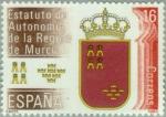 Stamps Spain -  ESTATUTO DE AUTONOMÍA MURCIA