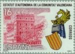 Stamps : Europe : Spain :  ESTATUTO DE AUTONOMÍA VALENCIA