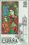 Sellos del Mundo : Europa : España : VIDRIERAS ARTÍSTICAS La Epifanía-Catedral de Gerona