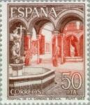 Sellos del Mundo : Europa : España : TURISMO-1983 (Hospital de la Caridad-Sevilla)