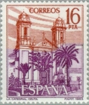 Stamps : Europe : Spain :  TURISMO-1983 (Catedral-Ceuta)