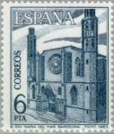 Sellos del Mundo : Europa : España : TURISMO-1983 (Basílica Sta. Mª del Mar-Barcelona)