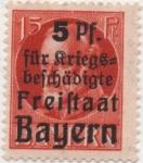 Sellos del Mundo : Europa : Alemania : Baviera Y & T Nº 172_1