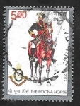 Stamps India -  Caballo de Poona