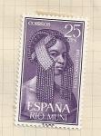 Sellos de Europa - España -  Río Muni, Pro Infancia 1962