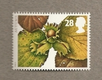 Sellos de Europa - Reino Unido -  Frutos de otoño