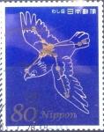 Stamps Japan -  Scott#3342e intercambio 0,90 usd 80 y. 2011