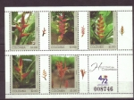 Stamps Colombia -  helconias de colombia