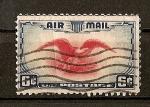 Sellos del Mundo : America : Estados_Unidos : Semana Nacional del correo Aereo Postal.