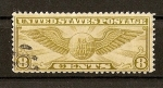 Sellos de America - Estados Unidos -  Insignia de Piloto./ Serie basica.