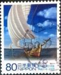 Stamps Japan -  Scott#3169d intercambio 0,90 usd 80 y. 2009