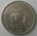 monedas del Mundo : America : Ecuador :  1991 - 5 sucres