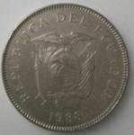 monedas del Mundo : America : Ecuador :  1988 - 20 sucres