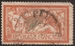 Sellos de Europa - Francia -  Paz y Libertad  1920  2 Fr