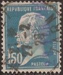Sellos de Europa - Francia -  Pasteur  1925  1,5 Fr