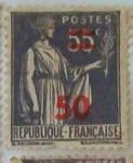 Sellos de Europa - Francia -  Paix