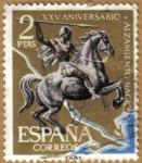 Stamps Spain -  Aniver. Alzamiento - Batalla del Ebro