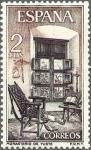Sellos de Europa - España -  ESPAÑA 1965 1687 Sello Nuevo Monasterio de Yuste Habitación Carlos I