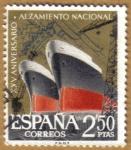 Sellos de Europa - España -  Aniver. Alzamiento - Industria Naval