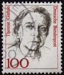 Stamps Germany -  INT-THERESE GIEHSE