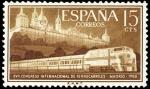 Sellos del Mundo : Europa : España : ESPAÑA SEGUNDO CENTENARIO NUEVO Nº 1234** 80C VERDE FERROCARRIL