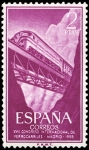 Sellos del Mundo : Europa : España : ESPAÑA SEGUNDO CENTENARIO NUEVO Nº 1236 ** 2P MALVA FERROCARRILES