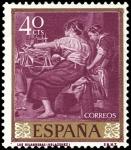 Sellos del Mundo : Europa : España : ESPAÑA SEGUNDO CENTENARIO NUEVO Nº 1239 ** 4OC MALVA VELAZQUEZ