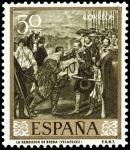 Sellos del Mundo : Europa : España : ESPAÑA SEGUNDO CENTENARIO NUEVO Nº 1240 ** 50C OLIVA VELAZQUEZ