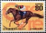 Sellos de Asia - Japón -  Scott#3477a intercambio 0,90 usd 80 y. 2012