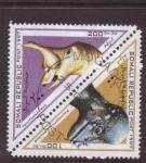 Sellos de Africa - Somalia -  dinosaurios