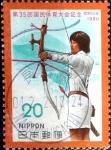 Sellos de Asia - Japón -  Scott#1419 intercambio 0,20 usd 20 y. 1980