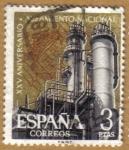 Sellos de Europa - España -  Aniver. Alzamiento - Siderurgia Española