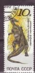 Sellos de Europa - Rusia -  dinosaurios