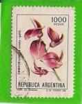 Sellos del Mundo : America : Argentina :  Ceibo