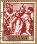 Stamps Spain -  GRECO - La Santisima Trinidad