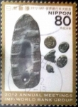 Stamps Japan -  Scott#3481h intercambio 0,90 usd 80 y. 2012