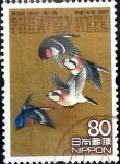 Stamps of the world : Japan :  Scott#2988 intercambio 1,00 usd 80 y. 2007