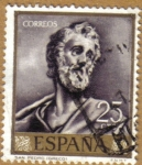 Stamps Spain -  GRECO - San Pedro