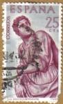 Stamps Spain -  BERRUGUETE - San Benito