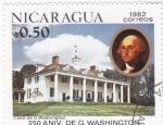 Sellos de America - Nicaragua -  250 aniversario de G.Washington