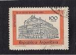 Sellos del Mundo : America : Argentina :  Teatro colon