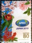 Stamps of the world : Japan :  Scott#3237a intercambio 0,90 usd 80 y. 2010