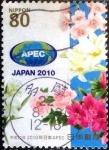 Sellos de Asia - Japón -  Scott#3237h intercambio 0,90 usd 80 y. 2010