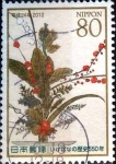 Stamps of the world : Japan :  Scott#3426a intercambio 0,90 usd 80 y. 2012