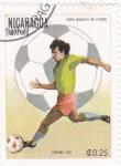 Sellos de America - Nicaragua -  Copa Mundial de Futbol España'82