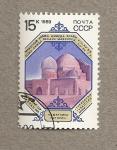 Sellos de Europa - Rusia -  Monumento siglo XIV